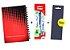 Kit Agenda Espiral 2019 Para Canhotos (modelo 2) + Caneta Energel SM/BL77 (0.7mm) Azul + Caneta Pentel de brinde - Imagem 1