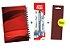 Kit Agenda Espiral 2019 Para Canhotos (modelo 1) + Caneta Energel SM/BL27 (0.7mm) Preta + Caneta Pentel de brinde - Imagem 1
