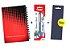 Kit Agenda Espiral 2019 Para Canhotos (modelo 2) + Caneta Energel SM/BLN25 (0.5mm) Preta + Caneta Pentel de brinde - Imagem 1