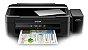 Impressora EPSON EcoTank L380 com 4 frascos de 130ml de Tinta Original Inktec corante ( Substituta da L220 ) - Imagem 3
