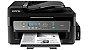 Impressora Epson WorkForce M205 Monocromática Completa com wifi e fax acompanha 600ml de tinta corante preta  - Imagem 1
