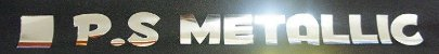 P. S. Filme de recorte Metallic Prateado - siser - ( 1mt x 50cm ) - M0034 - Imagem 3