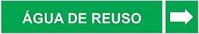 Etiqueta Adesiva Identificação de Tubulação Água de Reuso - Imagem 3