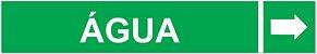 Etiqueta Adesiva Identificação de Tubulação Água - Imagem 1