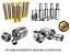 Kit Pinos e Buchas Embuchamento Dianteiro Levante Articulações Concha Caçamba - CASE 580L/M - Imagem 1