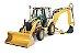 Cilindro Hidráulico Estabilizador Caterpillar 420E - Lado Esquerdo - Imagem 2