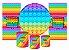 Super Kit Painel De Festa e Capas de Cilindro em tecido sublimado Fidget Toys - Imagem 1
