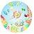 Painel de Festa Redondo em Tecido Sublimado Lindos Brinquedos c/elástico - Imagem 1