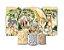 Super Kit Painel De Festa e Capas de Cilindro em tecido sublimado Safari Selvagem - Imagem 1