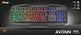 Teclado Gamer GXT 830-W Avonn 12 teclas Multimídia Anti-Ghosting Iluminado - Trust - Imagem 6
