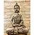 Escultura Buda Sentado Meditando - Grande - Imagem 1