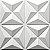 Placas decorativas 3D Poliestireno Mini Estrelar m² - Imagem 6