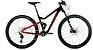 Audax FS400 Full Deore Preto Vermelho - Imagem 1