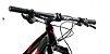 Audax FS400 Full Deore Preto Vermelho - Imagem 2