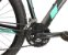 Bicicleta Sky 24V Turquesa e Preto Hidráulico - Imagem 4