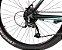 Bicicleta Sky 24V Turquesa e Preto Hidráulico - Imagem 3