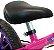 Bicicleta Aro 12 Balance Nathor Feminina Rosa Roxo - Imagem 4