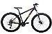 Bicicleta Aro 29 Tsw Rava Pressure 21V Preto/Vermelho/Amarelo Hidraulico 12135 - Imagem 2