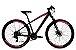 Bicicleta Aro 29 Redstone Nitro 24V Preto/Rosa - Imagem 1