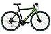 Bicicleta Aro 700 Eletrica Oggi E-Bike Lite Tour E-500 Preto/Verde - Imagem 1