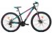 Bicicleta Aro 29 Trinx M100 Pro/Max 24V Preto/Rosa/Verde - Imagem 1