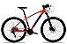 Bicicleta Aro 29 Redstone Aquila 27V Laranja/Preto/Azul - Imagem 1