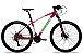 Bicicleta Aro 29 Redstone Aquila 27V Rosa/Branco/Verde - Imagem 1