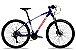 Bicicleta Aro 29 Redstone Aquila 27V Azul/Branco/Vermelho - Imagem 1