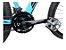 Bicicleta Aro 29 Sky 24V (F) Azul/Preto Hidraulico - Imagem 5