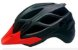 Capacete Jet Guardian (M) Preto Fosco/Vermelho Neon 22435 3699 - Imagem 1
