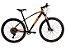 Bicicleta Rava Storm 12V Preto e Laranja - Imagem 1