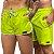 Short Jon Cotre Verde Neon Kit Casal - Imagem 1