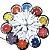 Mandala Divino Ferro 40 Cm - Imagem 1