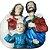 Sagrada Família Medalhão 13 cm - Imagem 3