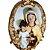 Medalhão de Parede Nossa Senhora do Carmo 40 cm - Imagem 2