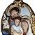Medalhão de Parede Sagrada Família 40 cm - Imagem 2