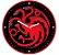 RELÓGIO DE PAREDE - TARGARYEN - Game of Thrones - Imagem 1