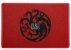 CAPACHO - FIRE AND BLOOD - 60x40 - Game of Thrones - Imagem 1