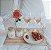 Vela Perfumada de Jasmin com Rosas (Pote com tampa de cortiça M) - Imagem 2