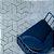 Tapete Sala / Quarto / Formas 80 Cinza Resistente e Confortável - Zinihome - Imagem 1