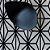 Tapete Sala / Quarto / Simetria 10 Offwhite Preto Resistente e Confortável - Imagem 1