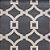 Tapete Sala / Quarto / Simetria 60 Cinza Branco Resistente e Confortável - Imagem 1