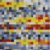 Tapete Sala / Quarto / Pixel Colorido - Imagem 1