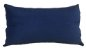 Almofada Baguete Veludo Liso Azul  DC 233-01 | 58 x 35 - Imagem 1