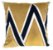 Almofada Veludo Com Aplique Boucle Dourado  013-01  52x52 - Imagem 1