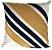 Almofada Veludo Com Aplique Boucle Dourado  013-03  | 52x52 - Imagem 1