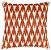 Almofada Crochê Tramado Ocre e Branco  019-12  | 52x52 - Imagem 1