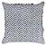 Almofada Crochê Tramado Azul e Branco  019-25  | 52x52 - Imagem 1