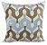 Almofada Veludo Com Aplique Veludo Dourado e Palha 178-08   52x52 - Imagem 1