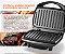 Sanduicheira Multilaser Super Grill Inox 127V 1200W Antiaderente Preta - CE11 - Imagem 1